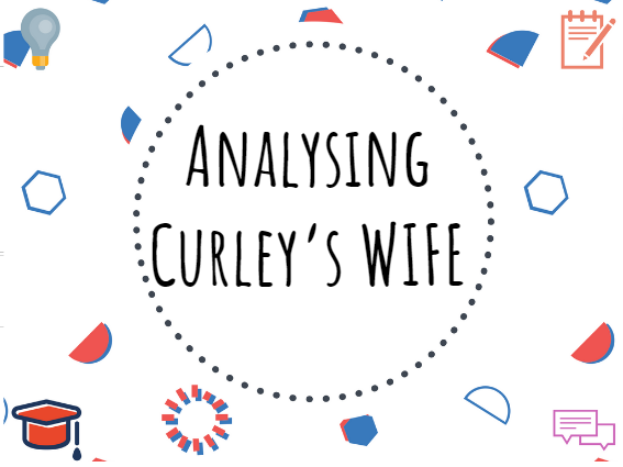 Curley's wife analysis - Of Mice and Men #GCSE #English #Revision