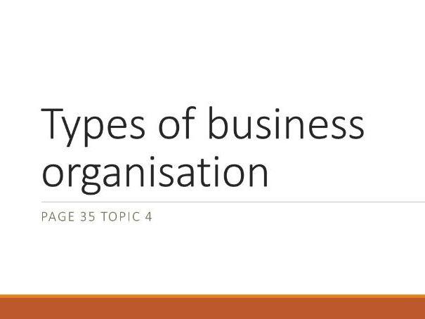 IGCSE Business Studies PPT Quiz