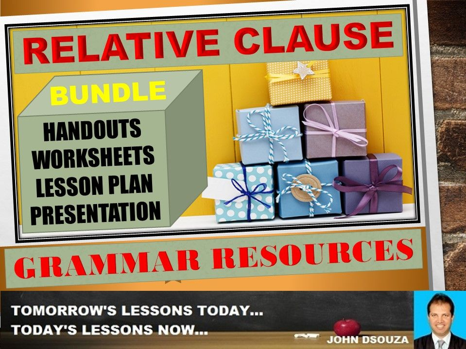 RELATIVE CLAUSE: BUNDLE