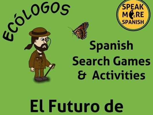 NEW Spanish Verb Games to learn the Irregular Future Tense Verbs. Los Verbos Irregulares del Futuro
