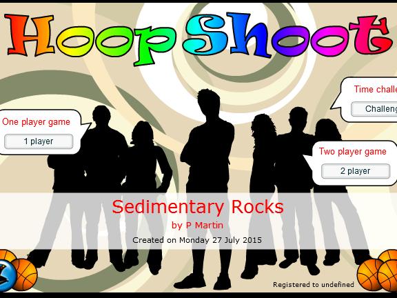Sedimentary Rocks Game