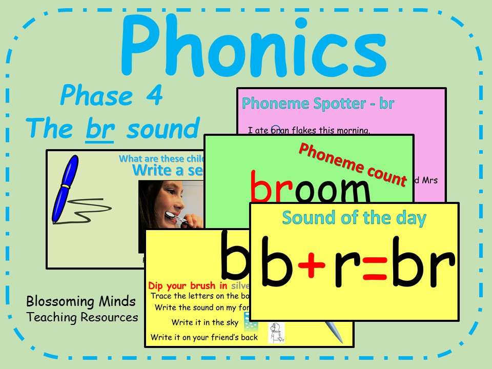 Phonics phase 4 - Consonant blends - The 'br' sound
