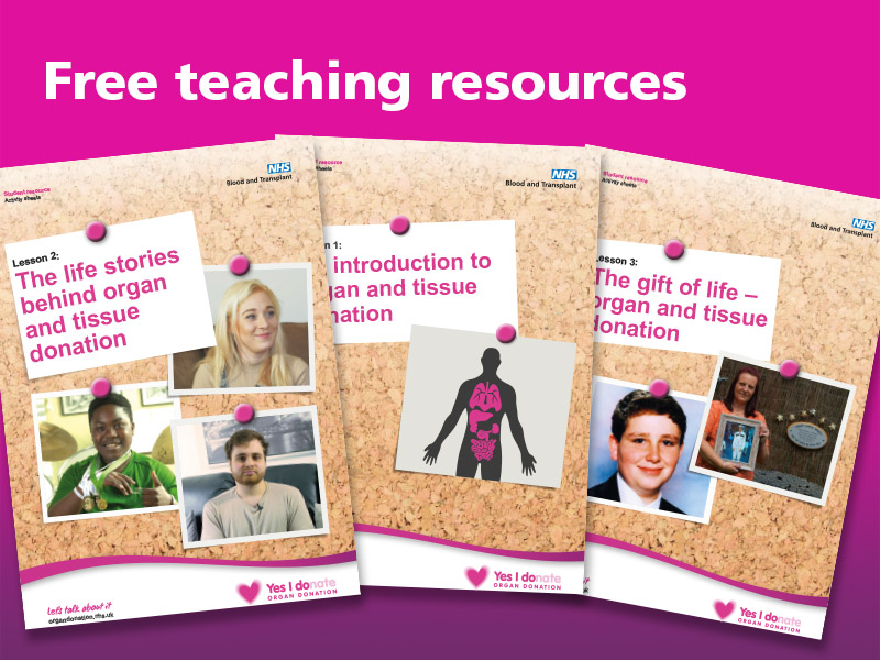 Organ Donation Resources - Lesson Two