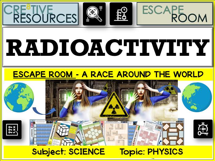 Radioactivity - Science Escape Room