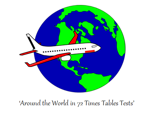 Timestables Scheme Race Across The World