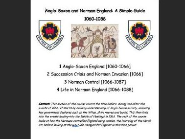 Norman England (Edexcel) Complete Guide