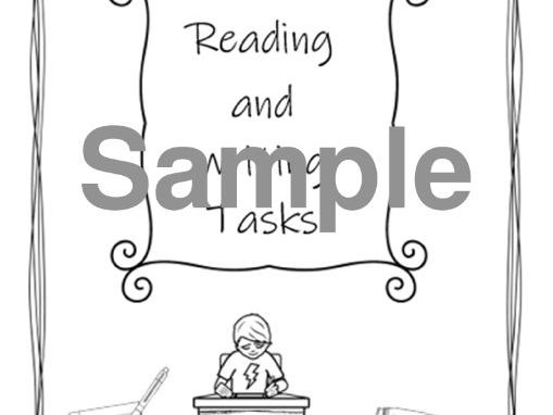 Reading and Writing Booklet