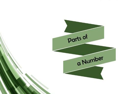 Parts of a Number