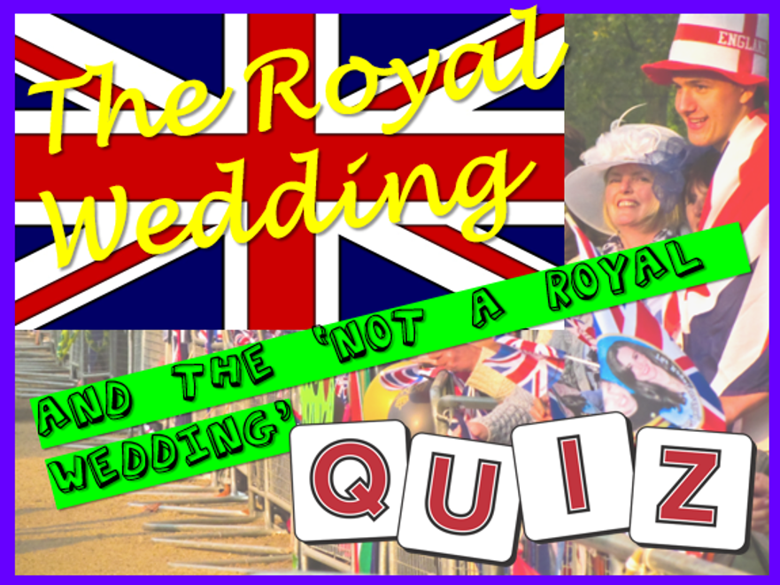 Royal Wedding Quiz