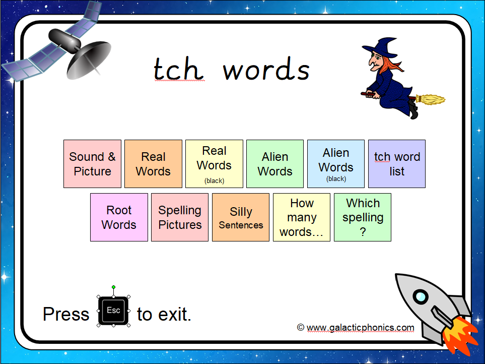 The 'tch' Phonics PowerPoint