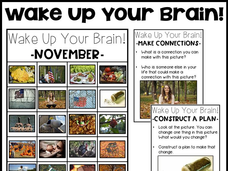 Wake Up Your Brain: November