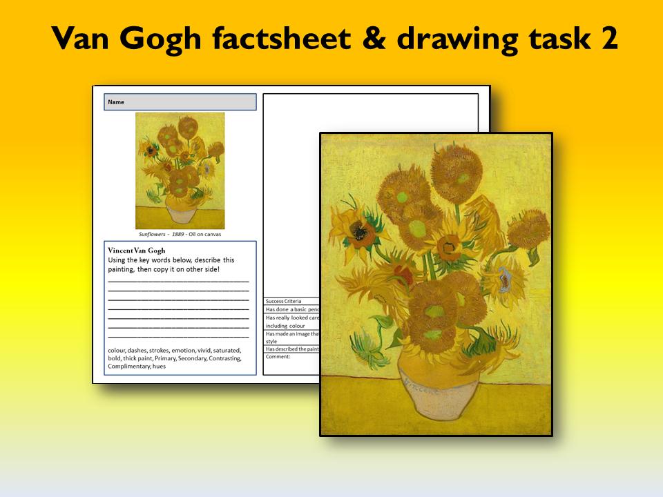 Van Gogh worksheet 2