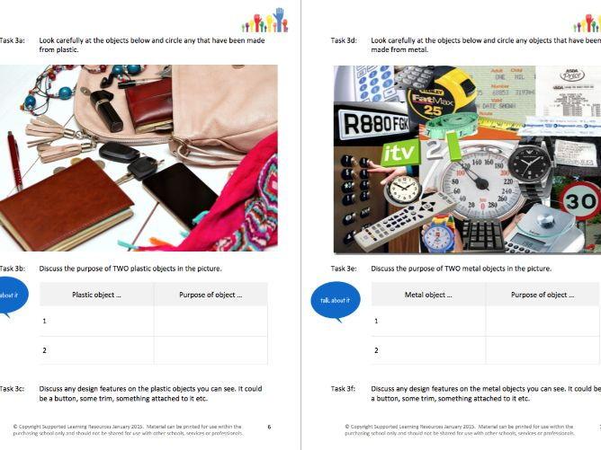 DESIGN IT (1) - HARD (RESISTANT) MATERIALS workbooklet