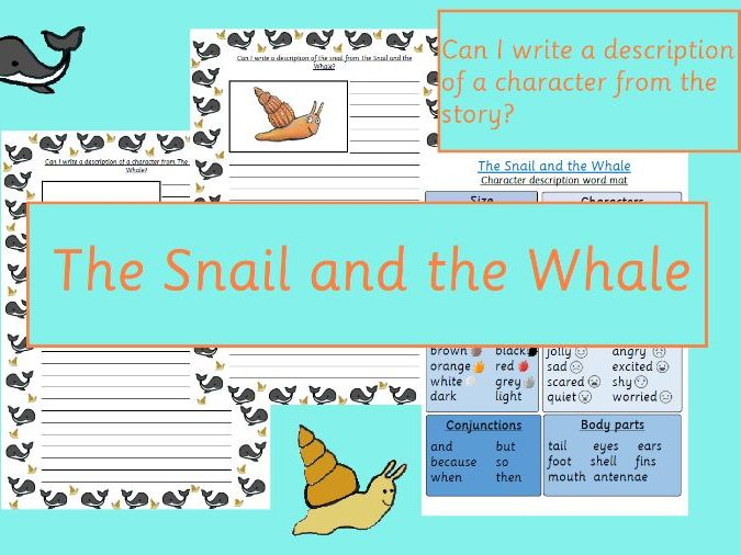 The Snail and the Whale Character Description