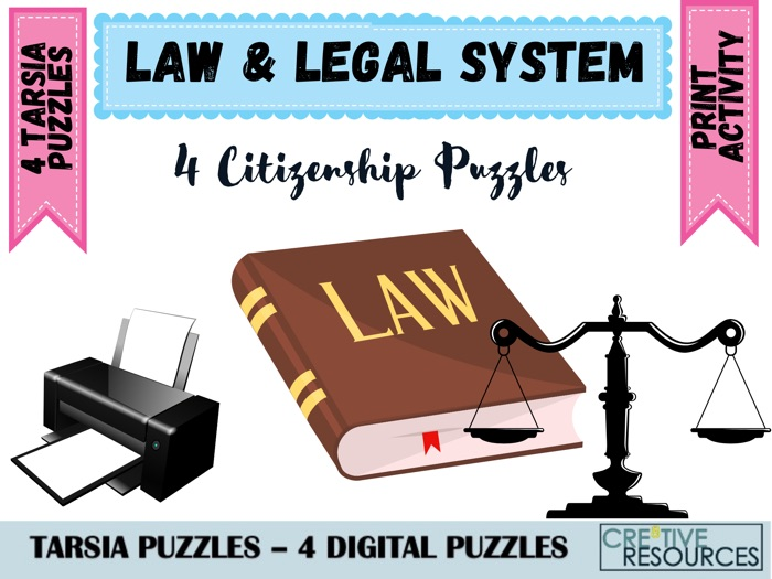 The Law and Legal System Puzzles