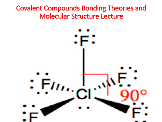 Covalent Compounds Bonding Theories and Molecular Structure Lecture (Chemistry)