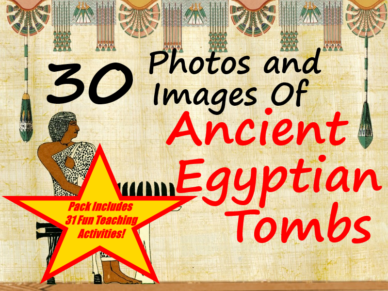 Ancient Egypt Tombs PowerPoint + 31 Different Teaching Ideas About How To Use The Cards
