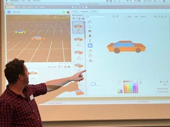 ScratchUp! A cunning combination of Sketchup (3D CAD) and Scratch (Coding)