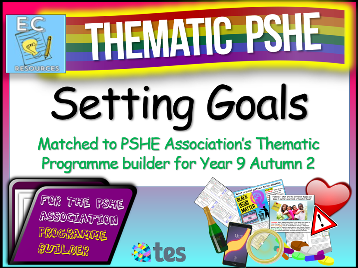 Setting Goals Thematic PSHE