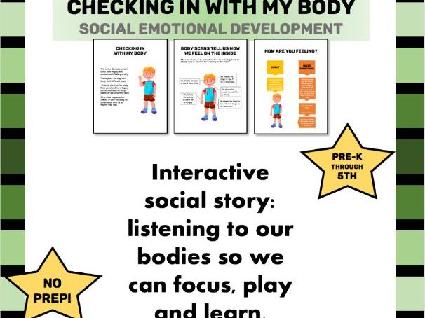 Interactive Social Story: Checking in with my body