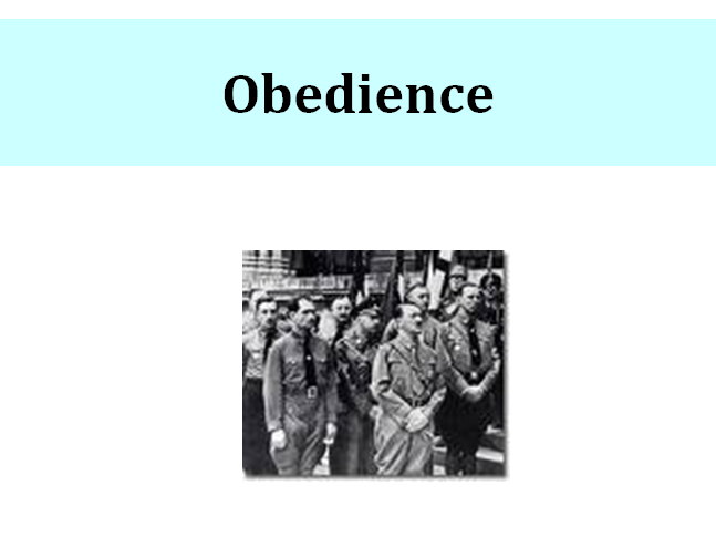 Social Psychology Obedience Milgram's Study Questions