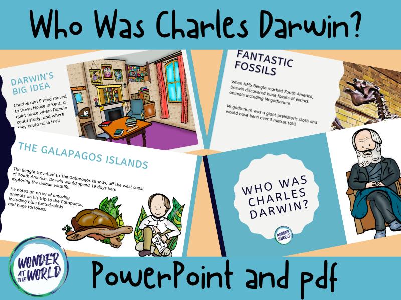 Who was Charles Darwin PowerPoint KS2