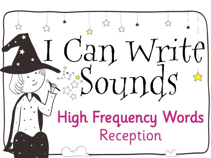Magic Sounds Phonics: Foundation Stage High Frequency Words