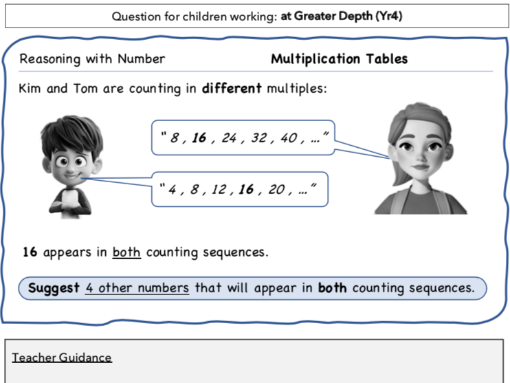 Year 4 Maths: Reasoning with TimesTables