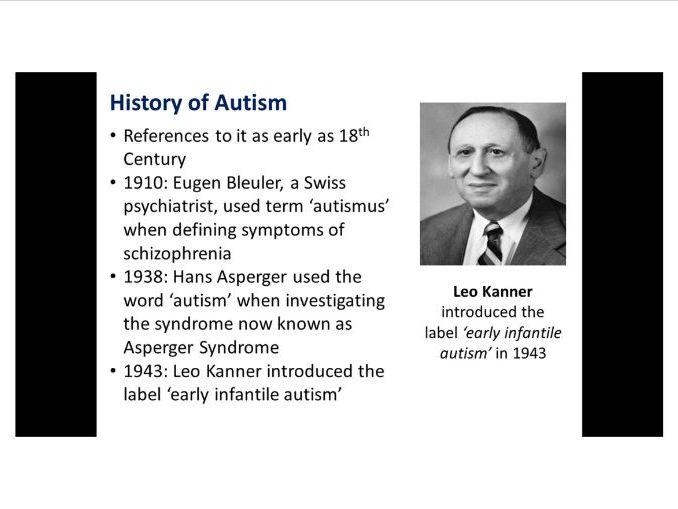 Autism Awareness Powerpoint presentation