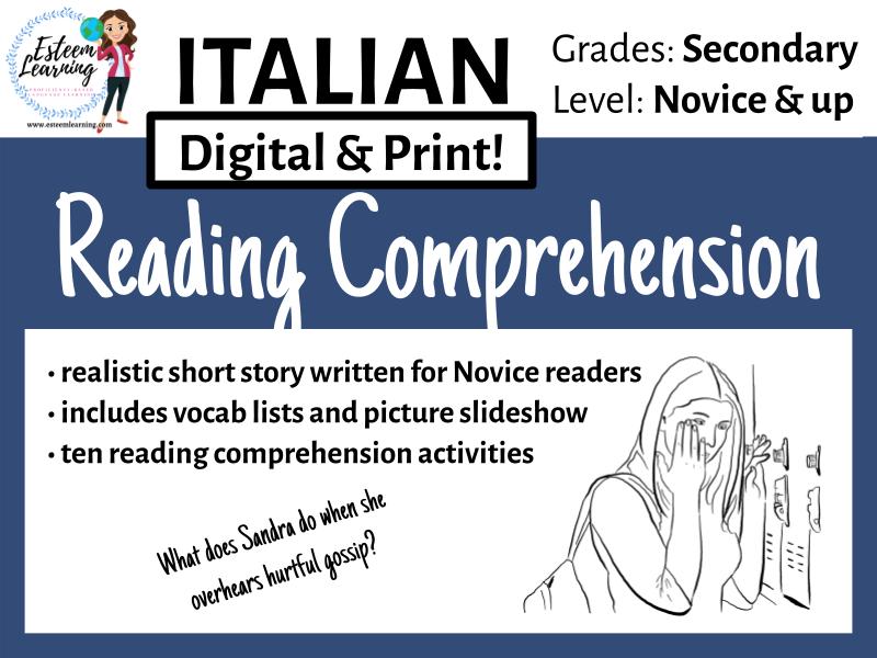 Italian Reading Comprehension 2