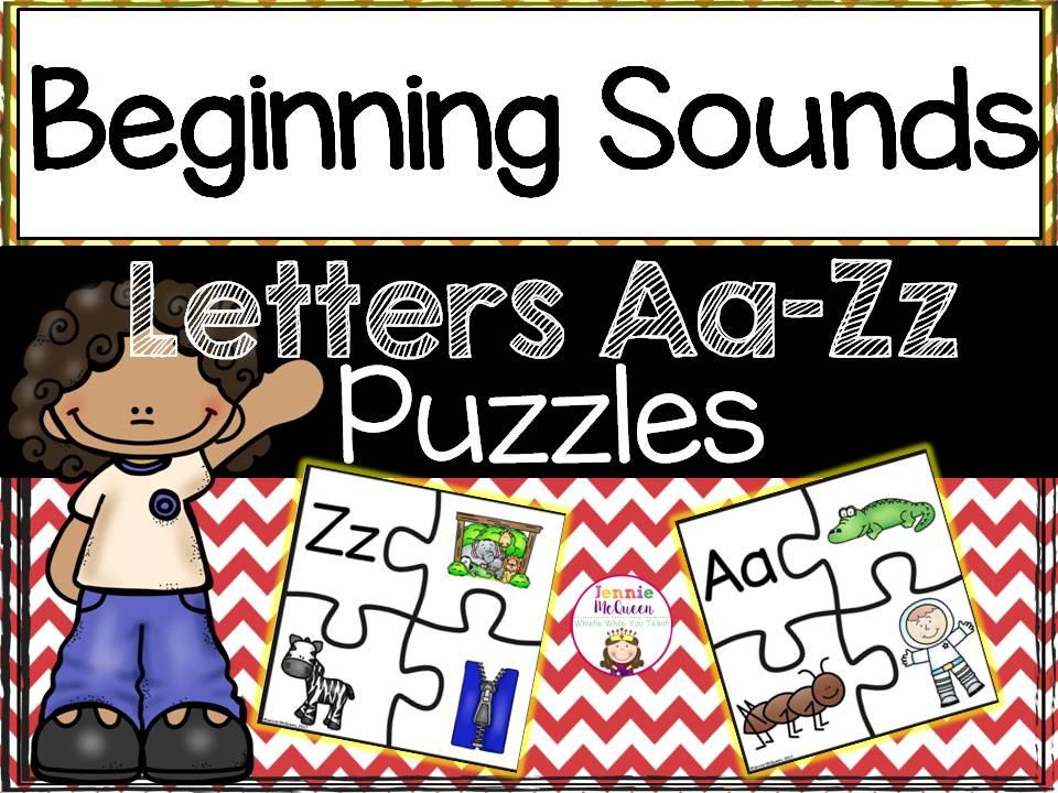 Alphabet Puzzles A-Z