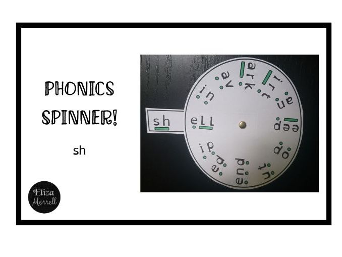FREE! Phonics - Phase 3 - Spinner - sh