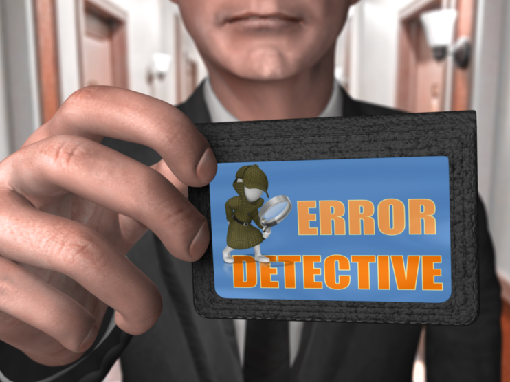 A Level PE: Error Detective - Types & Methods of Practice