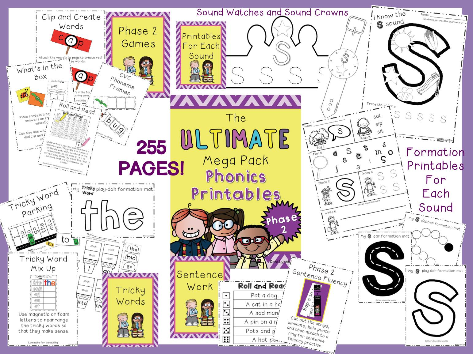 Ultimate Phase 2 Phonics Freebie!