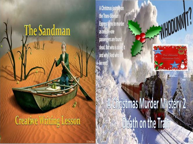 The Sandman and A Christmas Murder Mystery 2 with a Christmas Quiz