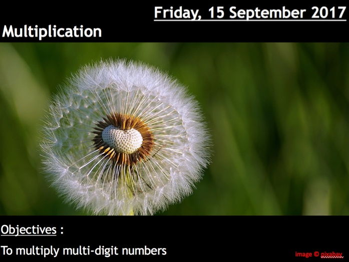ProjectALesson : Multiplication