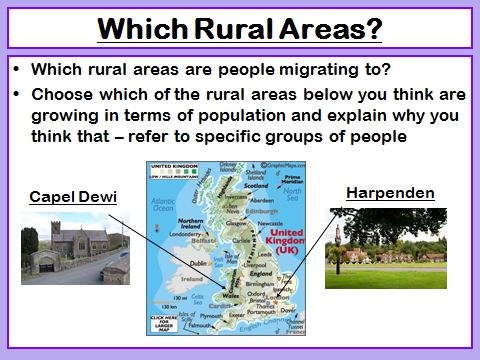 Social and Economic Change in Rural Areas