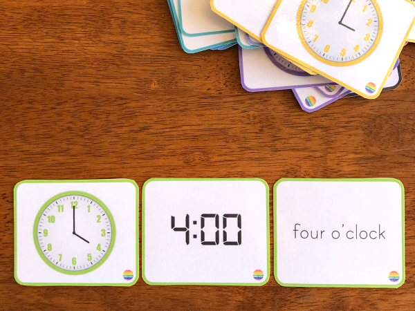 Telling Time -Learning Time to the Hour and Half Hour