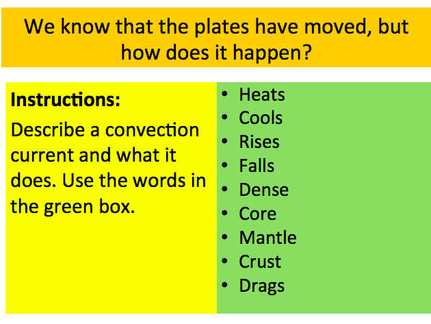 KS3 Geography: Tectonics / Volcanoes / Earthquakes: Convection currents - Lesson 1