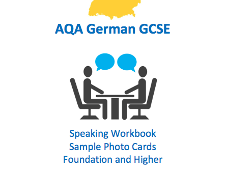AQA German GCSE Speaking Workbook - Photo cards