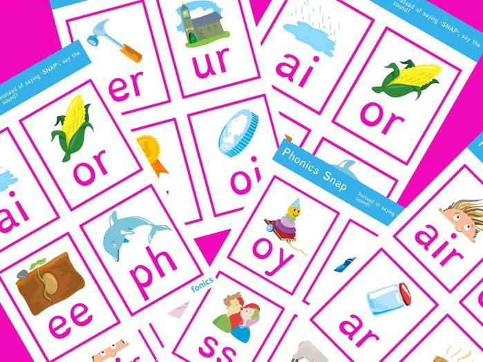 Phonics Snap | Phonics Resources | Letters and Sounds Phases