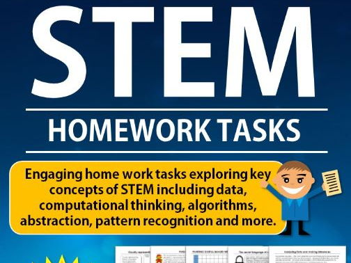 STEM HOMEWORK TASKS (DIGITAL TECHNOLOGIES ALIGNED)