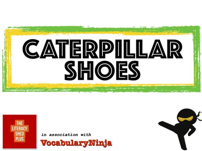 Caterpillar Shoes Vocabulary Pack
