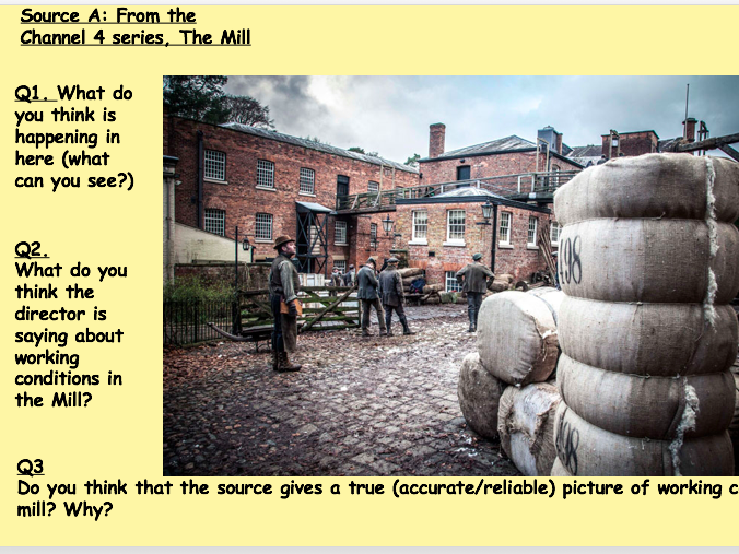 Quarry Bank Mill: source reliability