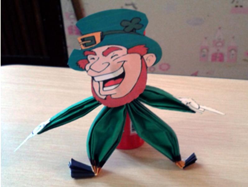 St Patrick's Day Make Your Own Magic Leprechaun