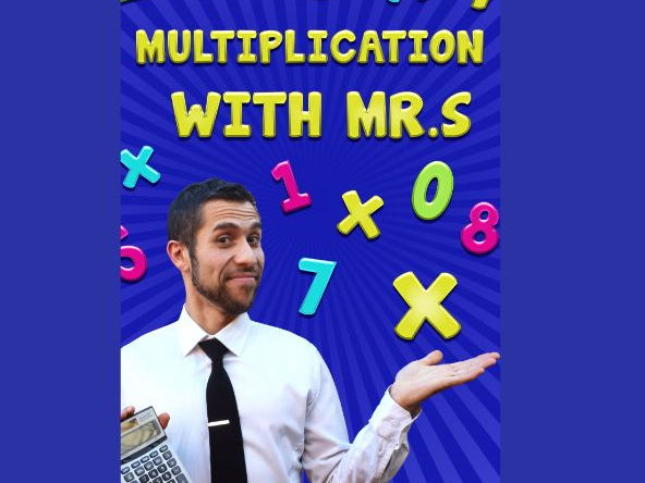 Multiplication songs with Mr. S