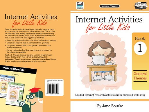 Internet Activities for Little Kids: Book 1 - General Themes