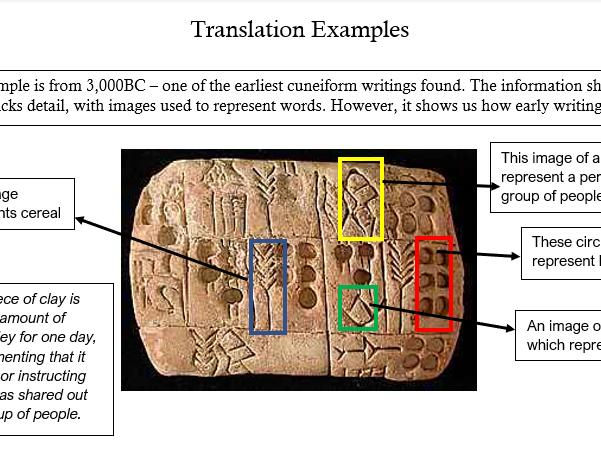 Mesopotamia: Cuneiform