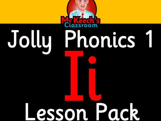 Phonics Worksheets, Lesson Plan, Flashcards | Jolly Phonics Letter I Lesson Pack