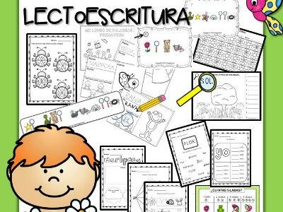 Pack - Primavera Lectoescritura - Juegos y Fichas